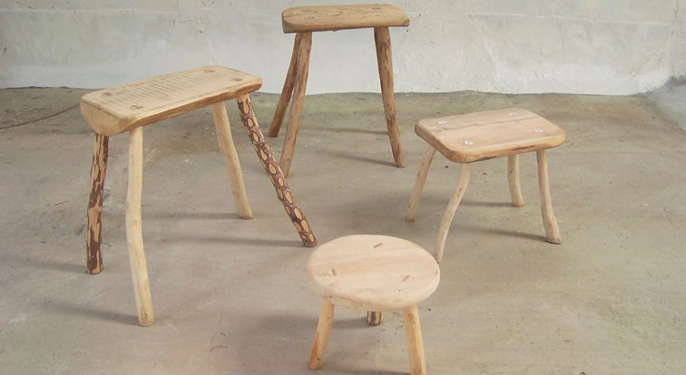 Marvelous Green Wood Courses Making Stools In Devon Craft Andrewgaddart Wooden Chair Designs For Living Room Andrewgaddartcom